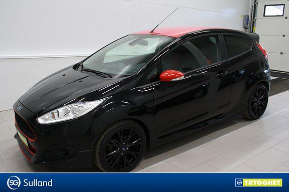 Ford Fiesta 1,0T 140hk Black edition ,Klima,DAB,tlf,mørke ruter,