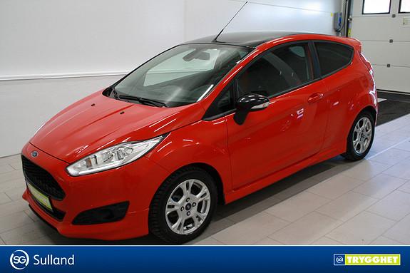 Ford Fiesta 1,0T 140hk Red edition ,Klima,DAB+,tlf,mørke ruter,