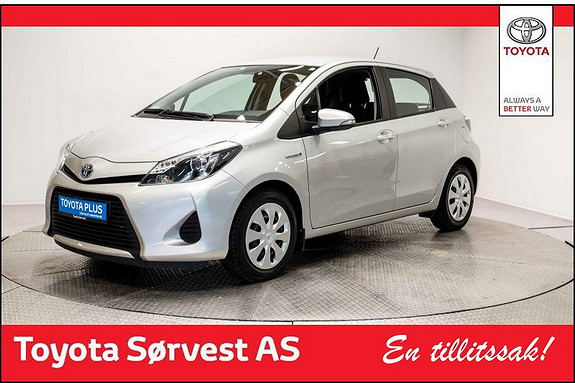 Toyota Yaris 1,5 Hybrid Active  2014, 31811 km, kr 179000,-