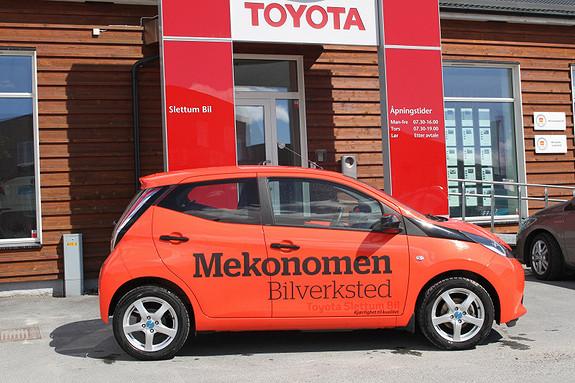 Toyota Aygo x-cite 1,0  2014, 8200 km, kr 139000,-