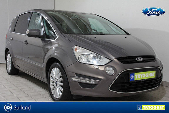 Ford S-MAX 2,0 TDCi 140hk Titanium Aut. 7-s HENGERFESTE-WEBASTO-
