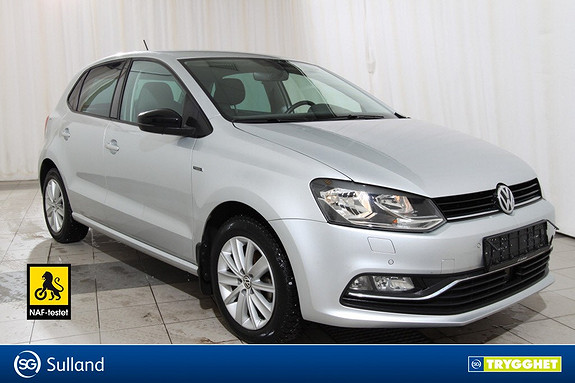 Volkswagen Polo 1,0 75hk Fresh DAB+.BLUETOOTH
