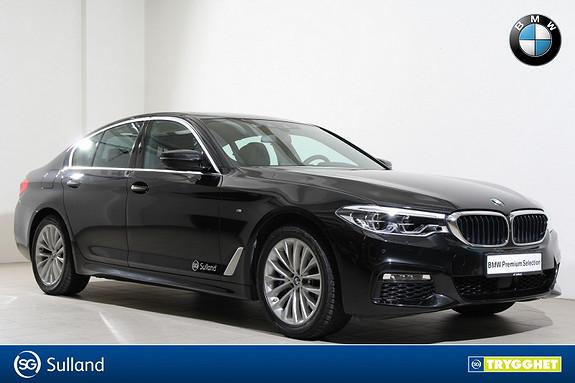 BMW 5-serie 530i xDrive NY aut Mpakke-HUD-DAB+-LED-Kamera-Soltak++
