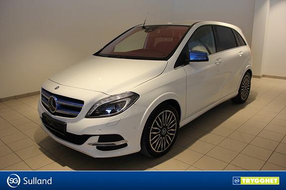 Mercedes-Benz B-Klasse Electric Edition Veldholdt god bil.