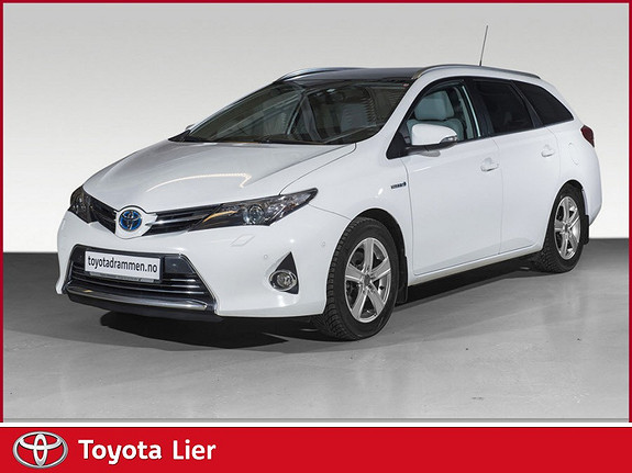 Toyota Auris Touring Sports 1,8 Hybrid Executive Flott bil, mye usty  2013, 105850 km, kr 189000,-