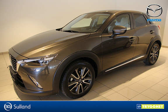Mazda CX-3 1,5D 105hk Optimum
