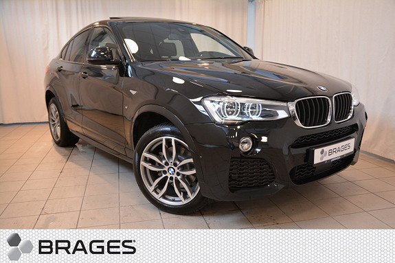 BMW X4 xDrive 20D 190HK MSPORT ACT.CRUISE HEADUP WEBASTO++  2017, 1 680 km, kr 813 000,-