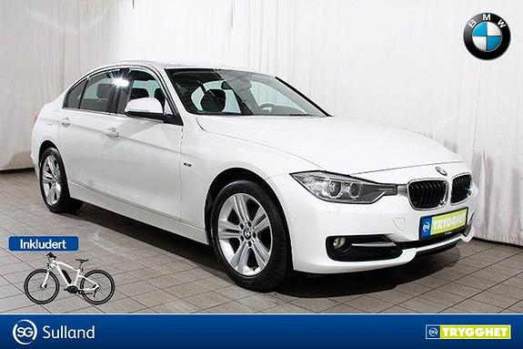 BMW 3-serie 318d xDrive SportL-DAB-Blåtann-krok-Fj.lysaut-oppv.ratt