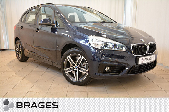 BMW 2-serie 225xe 224HK PLUG IN HYBRID NAVI HEADUP LED++  2017, 1 680 km, kr 417 000,-
