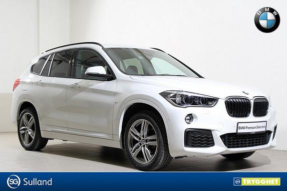BMW X1 xDrive18d 136hk aut -Mpakke-Navi-HUD-DAB+-Hengerfeste++