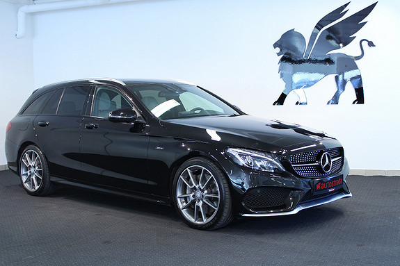 Mercedes-Benz C-Klasse C450T AMG Head-UP/Panorama/Sports eksos/LED/Blind Spot  2016, 26 500 km, kr 759 000,-