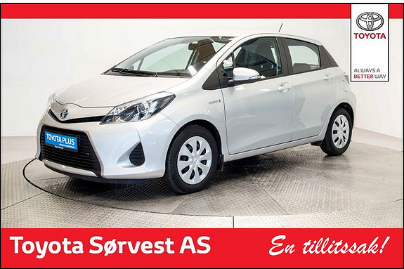 Toyota Yaris 1,5 Hybrid Active+ e-CVT aut Lav km!  2014, 22921 km, kr 179000,-