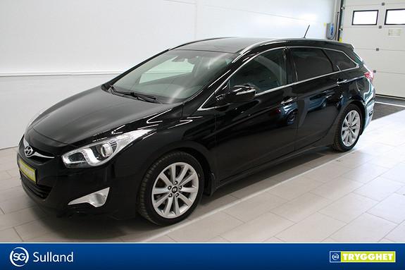 Hyundai i40 1,7 CRDi 136hk Premium AT ,Klima,cruise,panorama,skinn,