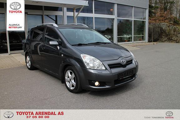 Toyota Corolla Verso 2,2 D-4D DPF Sol 7 seter 2,2 D4D h feste...  2007, 153000 km, kr 98000,-