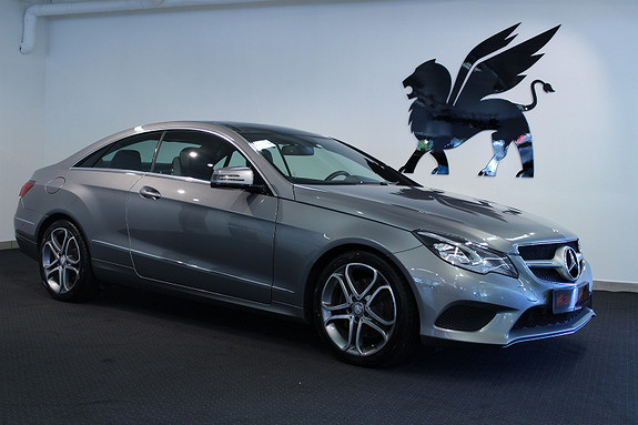 Mercedes-Benz E-Klasse Innbyttekampanje! Coupè Luke Navi PDC Cruise Xenon