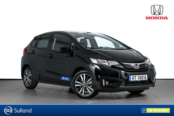 Honda Jazz 1,3 Elegance ADAS navi CVT GARMIN NAVI-RYGGEKAMERA-DAB+
