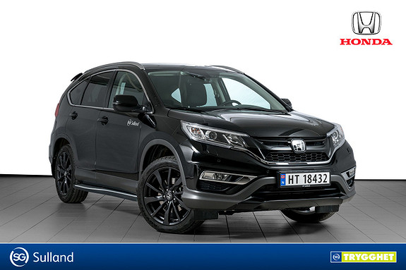 Honda CR-V 1,6 i-DTEC 160hk Executive Navi HS 4WD AT BLACK EDITION