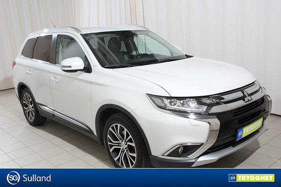 Mitsubishi Outlander Instyle+ 2.2-150 DI-D 4WD aut Skinnseter, Adap. Cruise