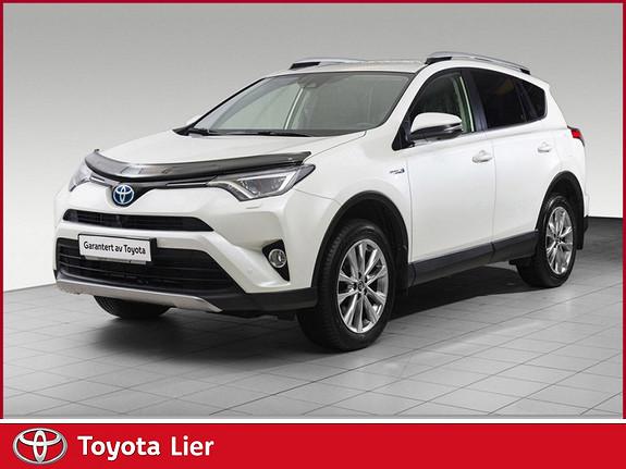 Toyota RAV4 Hybrid AWD Executive DEMO BIL TOPPMODELL.  2016, 13000 km, kr 475000,-