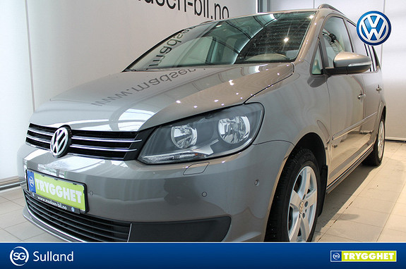 Volkswagen Touran 1,6 105 TDI DSG Comfortline KROK, MULTIRATT, TONEDE RUT