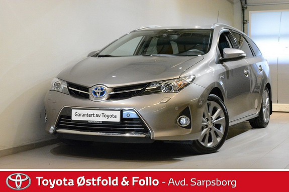 Toyota Auris Touring Sports 1,8 Hybrid Executive , DAB+/DELSKINN/KEY  2013, 20 200 km, kr 235 000,-