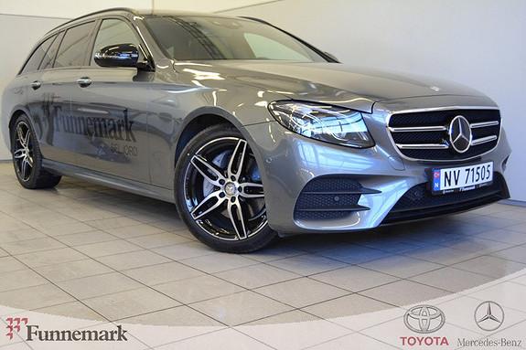 Mercedes-Benz E-Klasse E220d T aut //AMG/KJØREASSISTENT//SE UTSTYRSLISTE!!  2017, 11000 km, kr 699000,-