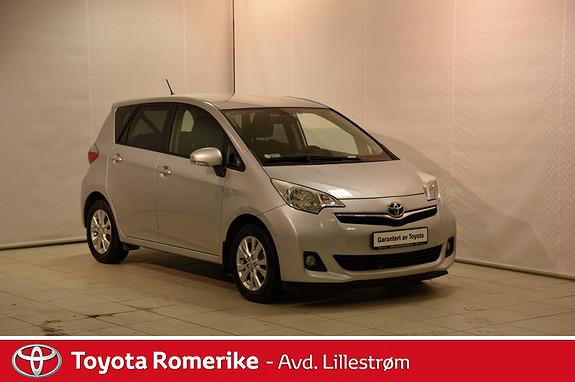 Toyota Verso-S 1,33 Dynamic  2013, 28763 km, kr 169000,-