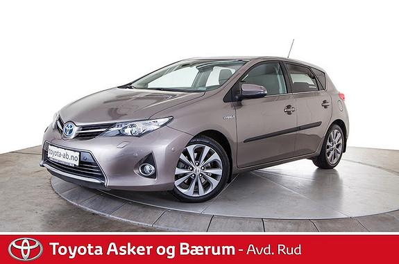 Toyota Auris 1,8 Hybrid E-CVT Executive  2013, 42800 km, kr 219000,-