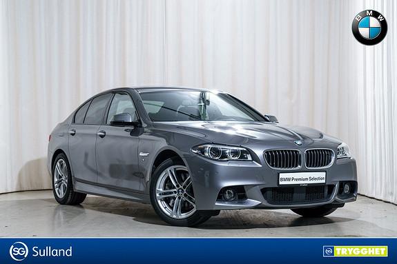 BMW 5-serie 530d xDrive aut M-Sport HF NightVision Navi HUD LED