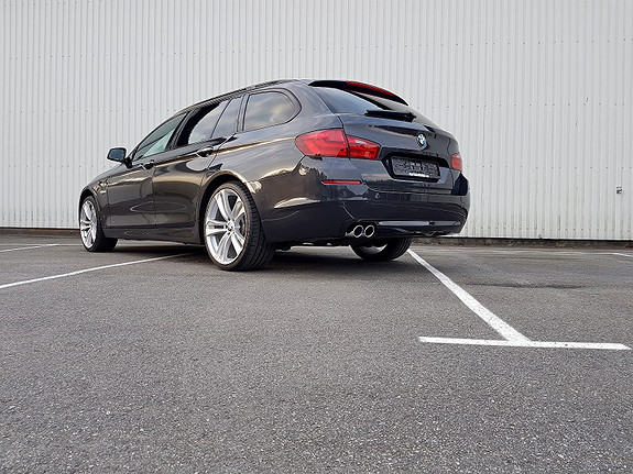 BMW 5-serie 220HK DIESEL SORT SKINN 24MND GARANTI 3.700,- PR MND  2011, 99000 km, kr 299660,-