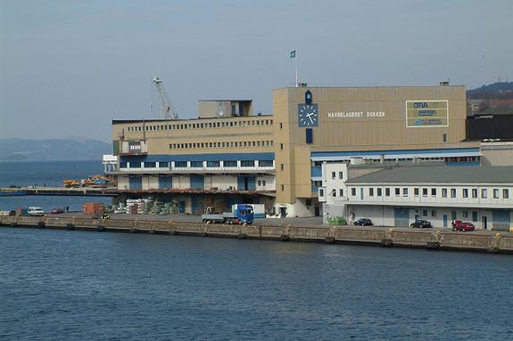 Sentrale lagerlokaler på Dokkeskjærskaien
