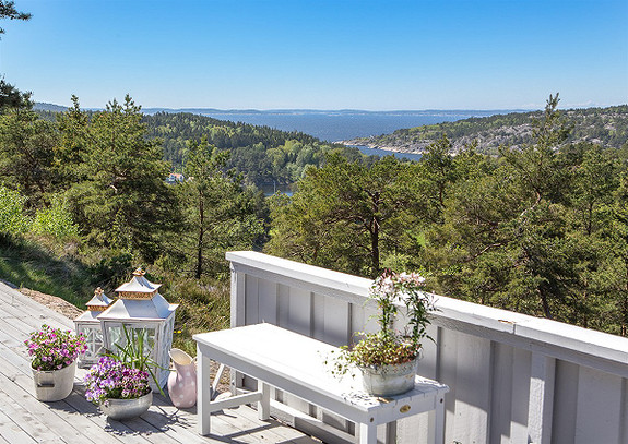 Ferieklar hytteeiendom, usjenert beliggende med fantastisk utsikt -Sponvika
