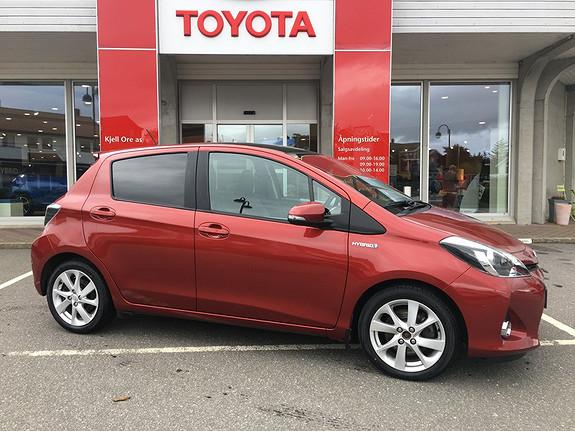 Toyota Yaris 1,5 Hybrid Style e-CVT m/ navi, ryggekamera, bt ++  2014, 86051 km, kr 169000,-