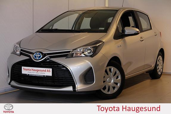 Toyota Yaris 1,5 Hybrid Active e-CVT Navigasjon, kamera, Bluetooth,  2015, 53697 km, kr 175000,-