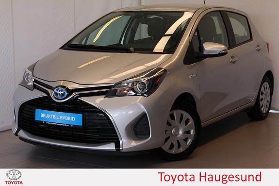 Toyota Yaris 1,5 Hybrid Active Kamera, navi, PDC, Bluetooth, Ttectyl  2014, 21731 km, kr 185000,-