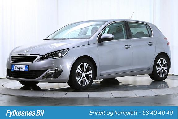 Peugeot 308 1,6 e-HDI 115hk Allure Flott utstyrt  2013, 37500 km, kr 189900,-