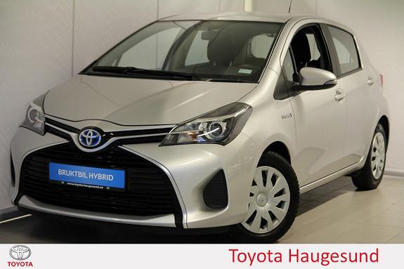 Toyota Yaris 1,5 Hybrid Active e-CVT Navi, kamera, Bluetooth, DAB+  2015, 50222 km, kr 175000,-