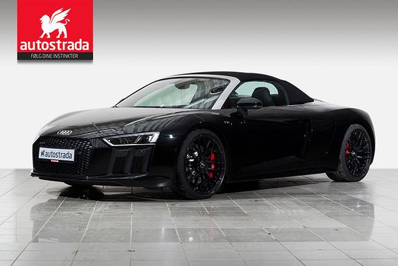 Audi R8 V10 Spyder/ Laserlys/  B&O/ Keyless/ Carbon++