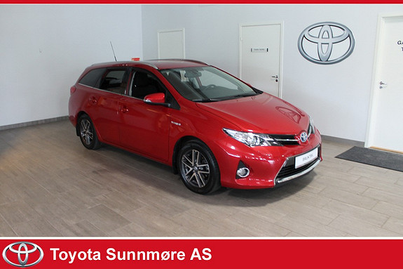 Toyota Auris Touring Sports 1,8 Hybrid Active+ *NYBILGARANTI**DAB+*N  2014, 42819 km, kr 229000,-