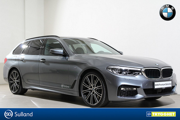 BMW 5-serie 530d xDrive Touring Automat M-Navi-HUD-NightVision-Pano
