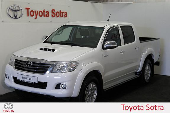 Toyota HiLux D-4D 144hk Double Cab 4WD SR+  2014, 74500 km, kr 269000,-