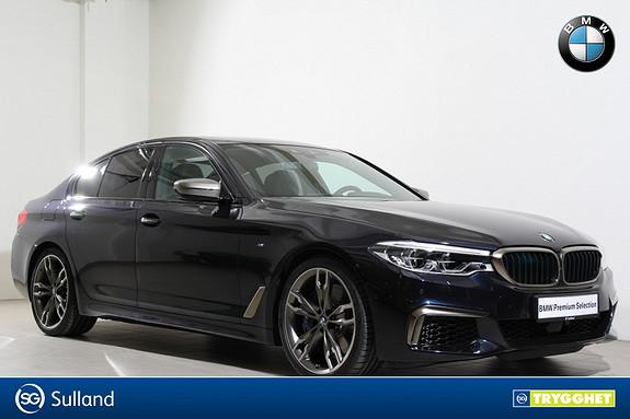 BMW 5-serie M550i xDrive aut Navi-HUD-DAB+-H&K-LED-DisplyKey-Kamera