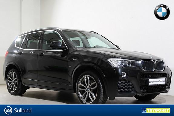 BMW X3 xDrive20d 163hk aut M-Navi-Webasto-DAB+-Kamera++