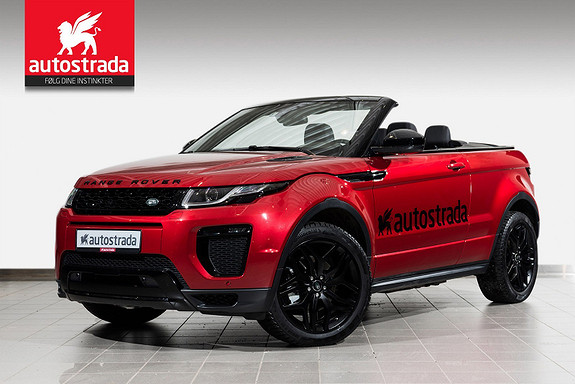 Land Rover Range Rover Evoque HSE Dynamic Convertible Black Pack