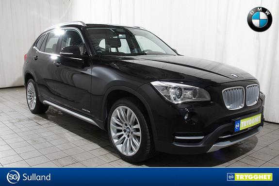 BMW X1 xDrive 18dA XLine-Xenon-DAB-Delskinn-Krok-Oppv.ratt-etc