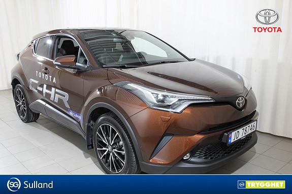 Toyota C-HR 1,2T Supreme Tech 4WD aut Topp utstyrt demo bil