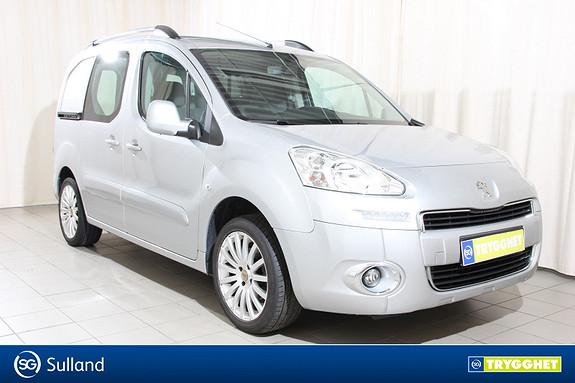 Peugeot Partner 1,6 e-HDi 90hk  EMG L1 Automat - 3 seter - T.feste