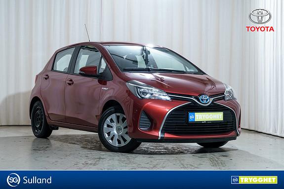 Toyota Yaris 1,5 Hybrid Active e-CVT aut Velholdt!