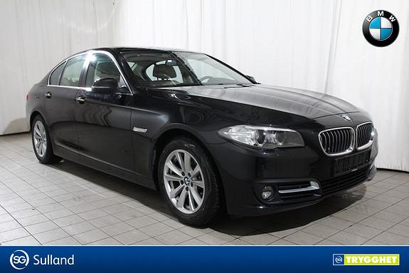 BMW 5-serie 520d Aut Norsk-Comf.seter-Navi-dieselv-Oppv.ratt-1 eier