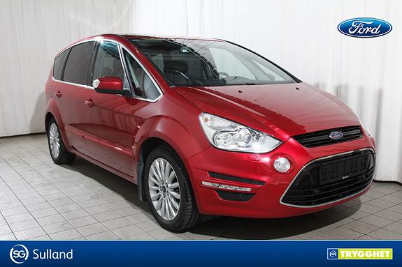 Ford S-MAX 1,6 TDCi 115hk Premium 7-s Helskinn Lav KM